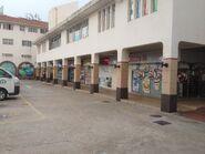 Block C Staff Carpark bus stop view