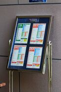 Notice Board at Chianti (The Pavilion) Terminus 20200630