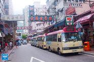 Chuen Lung Street Red Minibus 20160610