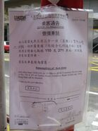 Peking Road Canton KMB notice