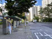 Ha Kwai House Kwai Chung Estate bus stop 20-06-2020