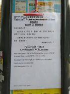 KNGMB 6C cancellation notice