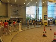 HKCEC loading area AEL stop Jul12 1