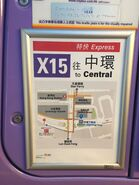 NWFB X15 in Central map