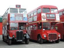 AEC Routemaster RM1 & AEC Regent III RT1