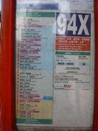 NWFB 94X Route Info 20080608
