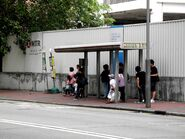 Nassau Street bus stop----(2013 11)