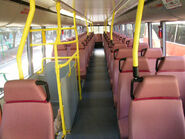 KMB AVD1 upper decker seats