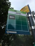 GMB 901 minibus stop