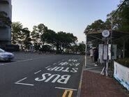 New Asia College bus terminus 04-04-2018