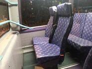 MTR BUS Dennis Trident seat
