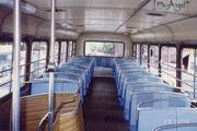 CTB Leyland Atlantean upper decker seats