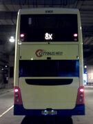 CTB 8900 8X rear