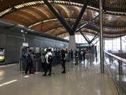 Hong Kong-Zhuhai-Macau Bridge Shuttle Bus ticket office in Hong Kong Port
