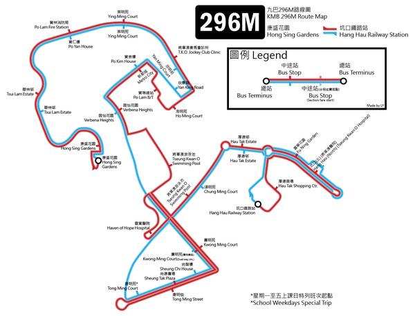 296M routemap