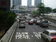 Harcourt Road Flyover West 1406