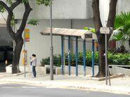 Euston Court bus stop---- (2013 10)