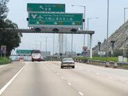 Tai Lam Tunnel TW Exit