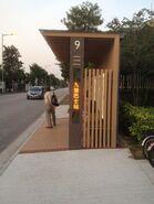 Fairview Park number nine bus stop