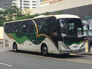 Kwoon Chung Bus UK6169 MTR Free Shuttle Bus TKL4 09-10-2019