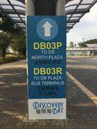 DBTSL DB03P and DB03R to DB Plaza big banner