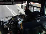 NLB MAN A51 MN68 bus driver cab