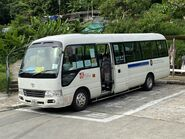 JJ7025 Ma On Shan Residents Bus Management Association NR84 arrive Ma On Shan Tsuen 15-07-2020