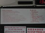Notice to passengers NLB