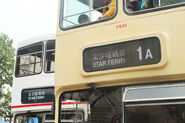 Getting Around with KMB, Yesterday and Today exhibition bus TST Ferry Rt Headsign