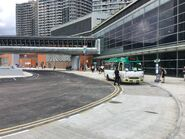 West Kowloon Station aboarding and alighting