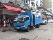 FE8795 Man Uk Pin Lorry Bus in Fanling terminus 06-04-2015 2