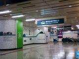 九龍站機場快綫穿梭巴士停車處