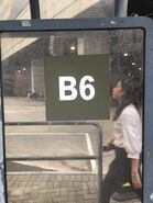 NLB B6 route number