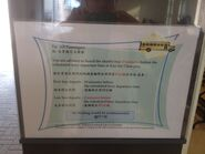 Kau Sai Chau shuttle bus timetable in golf centre