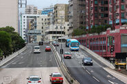 East Kowloon Corridor near Kai Tak Tunnel 201707