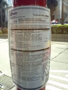 HK Marathon 2012 A21 diversion notice