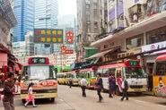 Kwun Tong Fu Yan Street Minibus 20160419