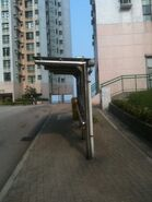 Capeland Drive (Blossom Court) bus stop 2