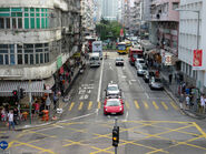 Nam Cheong St Bus Lane 201509