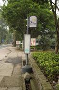 沙頭角快線bus stop in Sha Tau Kok Road
