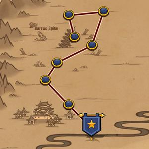Map The Forgotten Gods