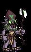 Marsh Goblin Witch EL1