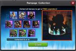 Rampage Collection full set