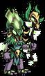 Marsh Goblin Witch EL4