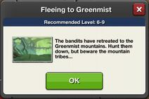 Fleeing to Greenmist