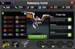Rampaging Hunter 1-1* resistances
