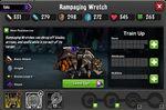 Rampaging Wretch 1-1* stats