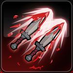 Flashing blades