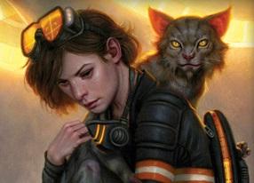 Stephanie and Lionheart - Fire Season