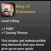 Ring of Endurance